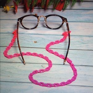 """Acrylic """"Must Have"""" Chic Glasses/Mask Holder"""